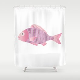 Snapper Shower Curtain