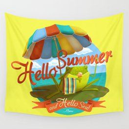 Hello summer and hello sea! Wall Tapestry