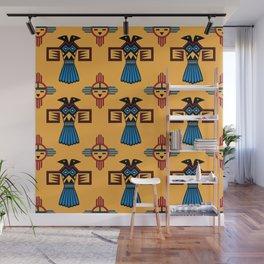Azteca Art Wall Mural