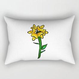 Birdsfoot Trefoil Illustration Rectangular Pillow