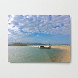 Vietnam Coastal View Metal Print