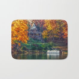 House on the Lake Bath Mat