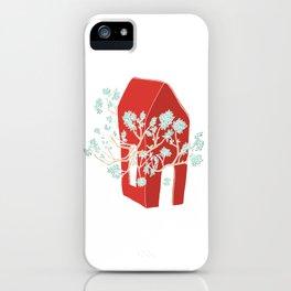 Break Free In Red iPhone Case