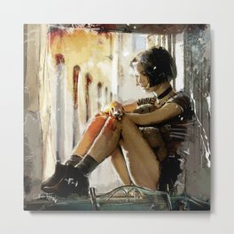 Mathilda - Leon the Professional Metal Print