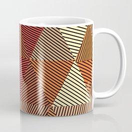Terracotta geometric Coffee Mug