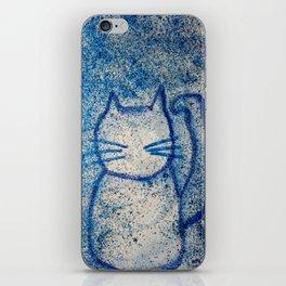 Cosmic cats iPhone Skin