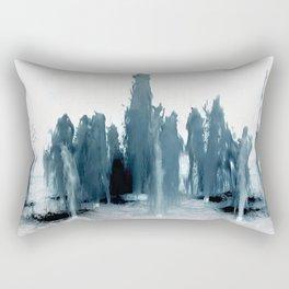 Negative Water Fountain Rectangular Pillow