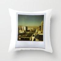 las vegas Throw Pillows featuring Las Vegas by very giorgious