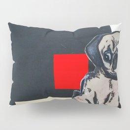 Mixed Pug Pillow Sham