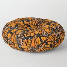 Monarch Madness Floor Pillow