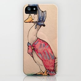 Jemima Puddleduck iPhone Case