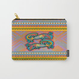 Geckos - Gold Carry-All Pouch