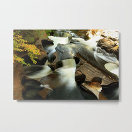 Fall from the Bridge Metal Print