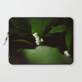 Dramatic Lilly of the Valley Laptop Sleeve
