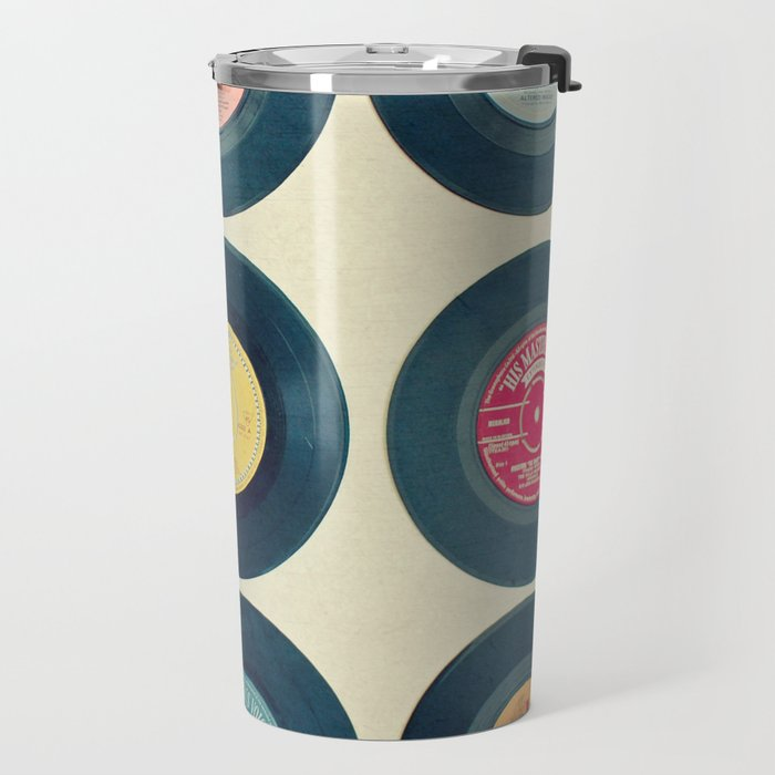 Vinyl Collection Travel Mug
