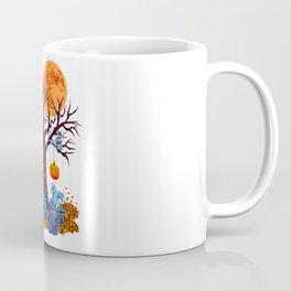 HALLOWEEN DRAGON PARTY (PAINTING) Coffee Mug