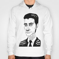 dale cooper Hoodies featuring Cooper by Simone Bellenoit : Art & Illustration