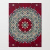 Canvas Prints featuring Mandala Nada Brahma  by Elias Zacarias