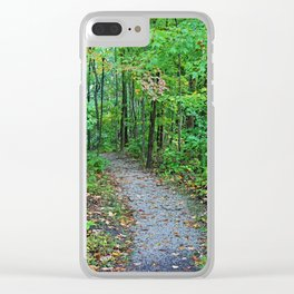 I Can Feel the Love Clear iPhone Case