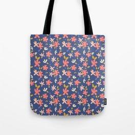 Dancing Florals Tote Bag