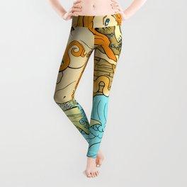 The Entangled Mermaid Leggings