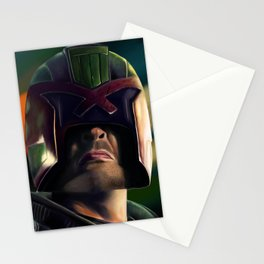 Judge Dredd Stationery Cards