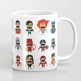 Screaming Heroes Coffee Mug