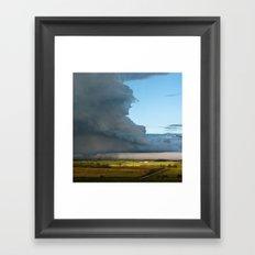 Distant Thunder Framed Art Print