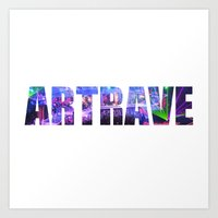 artrave Art Prints featuring artRAVE Venus by ARTPOPdesigns