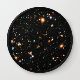 Hubble Extreme Deep Field Wall Clock