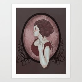 Cameo Art Print