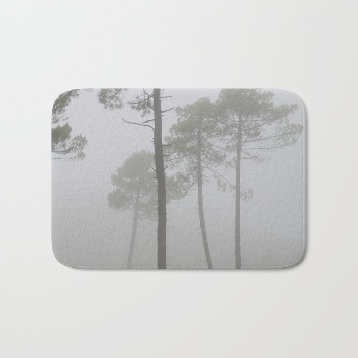"""""""Wind traces"""". Forest dreams Bath Mat"""