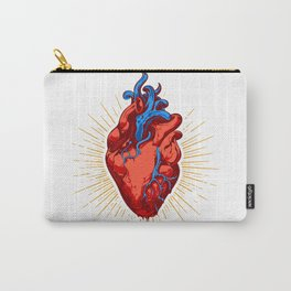 Holy Heart Carry-All Pouch