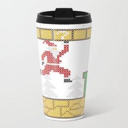 Mario Santa Claus Metal Travel Mug