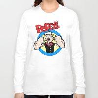 popeye Long Sleeve T-shirts featuring Popeye by idaspark