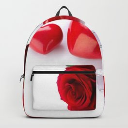 Holiday Christmas Christmas Ornaments Rose Flower  Backpack