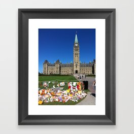 Jack Layton Memorial Framed Art Print