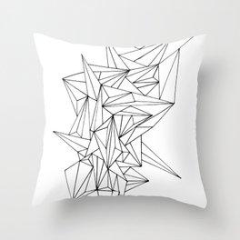 Geometric on the N Throw Pillow