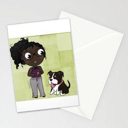 Cartoon Me: Pj & Gage Stationery Cards