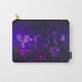 Vaporwave Vibes Alleyway Carry-All Pouch