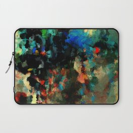 Colorful Landscape Abstract Painting Laptop Sleeve