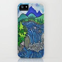 Wild River Kingdom iPhone Case
