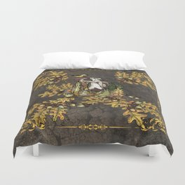 History of the autumn forest_5 Duvet Cover