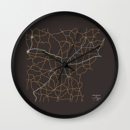 Arkansas Highways Wall Clock