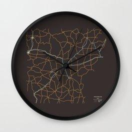 Arkansas Highways Wall Clock
