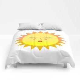 Lovely Sun Comforters