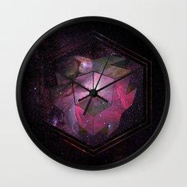 3D Cross Wall Clock
