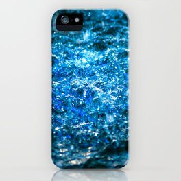 Water Color - Blue iPhone Case