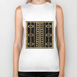 Art deco design II Biker Tank