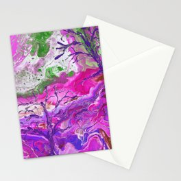 Grassy Knoll Pink Stationery Cards